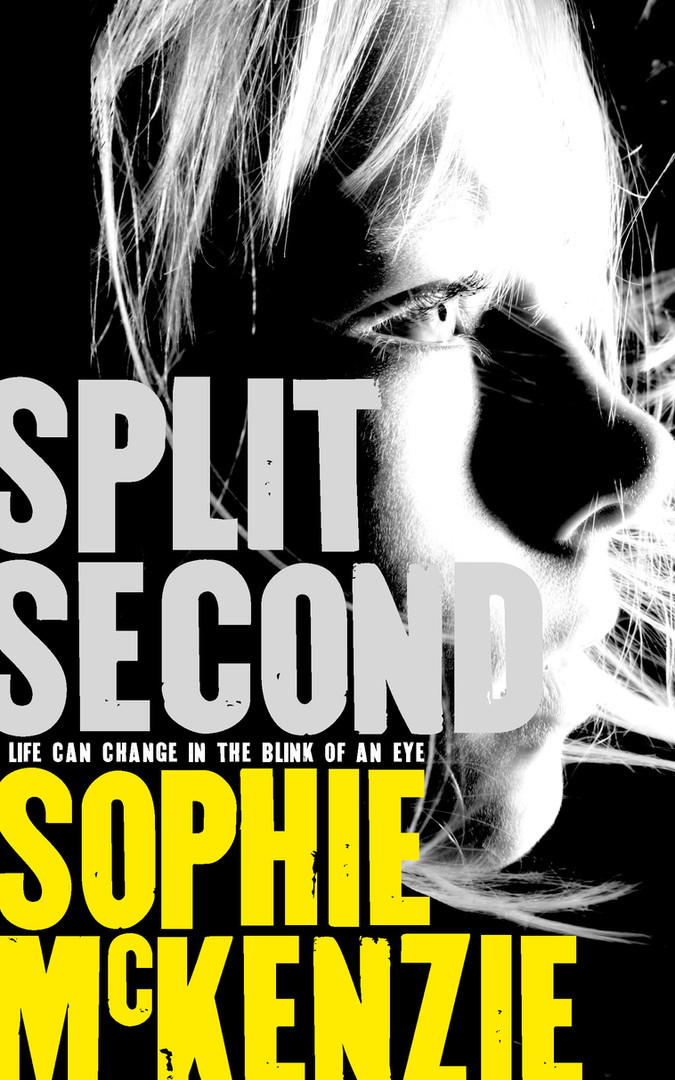 Front cover of 'Split Second' by Sophie McKenzie.