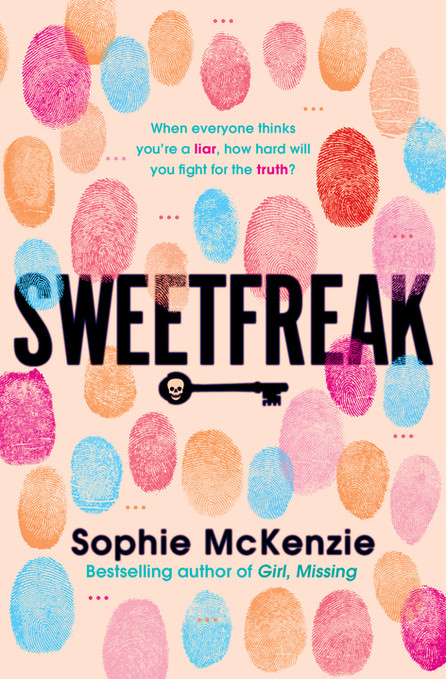 Front cover of 'SweetFreak' by Sophie McKenzie