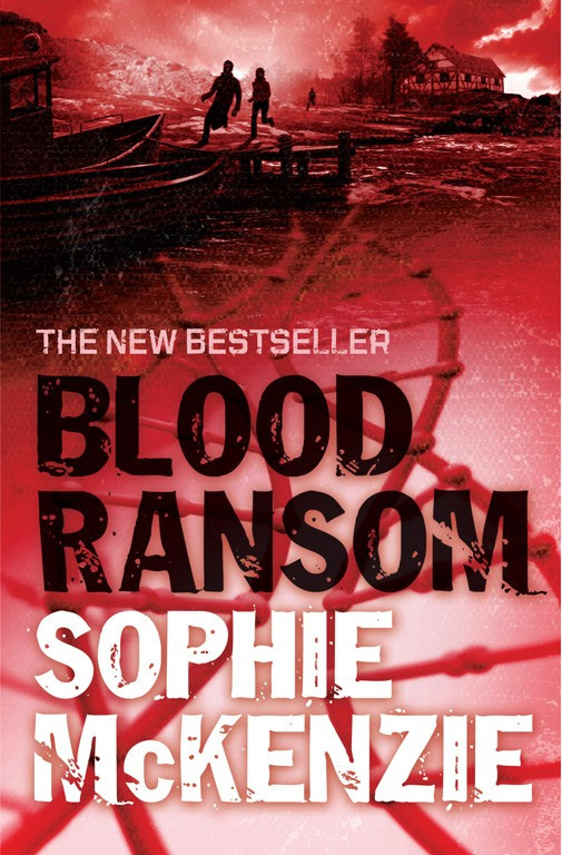 Front cover of 'Blood Ransom' by Sophie McKenzie.
