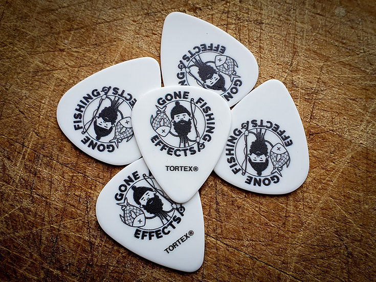 5 Pack - Gone Fishing Effects Plectrums