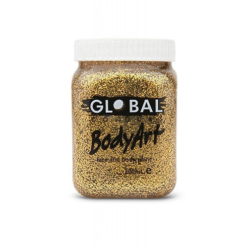 Global Gold Glitter Gel - 200ml