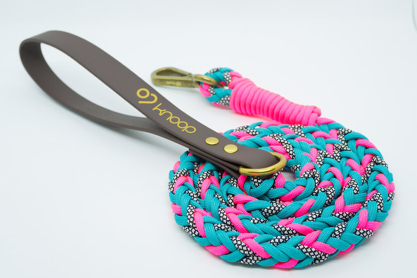 Turquoise Pink Lead