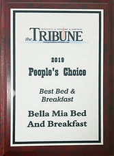 Bella Mia Bed and Breakfast People's Choice Awards