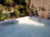 bella mia bed and breakfast - hot tub