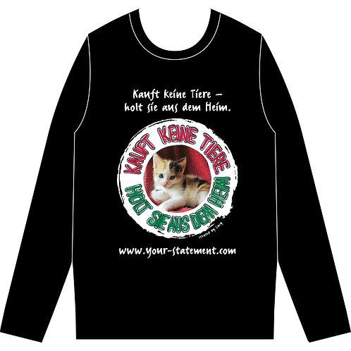 "Sweatshirt ""Heimtiere"" (Katze)"