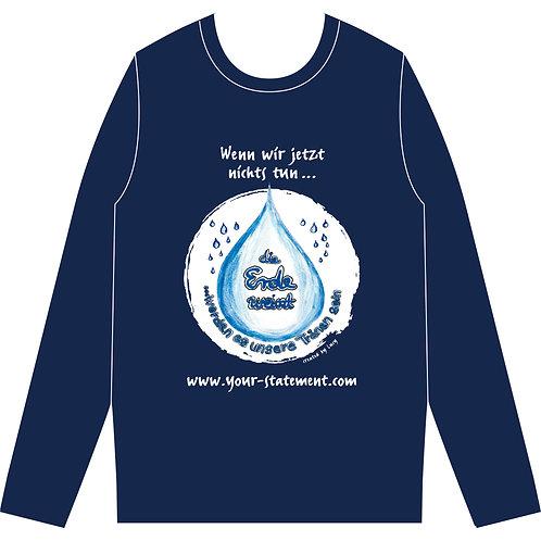 """Sweatshirt """"Die Erde weint"""""""