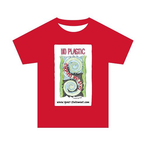 """Kindershirt """"No plastic - save our seaworld"""""""
