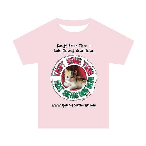 """Damenshirt """"Heimtiere"""" (Katze)"""