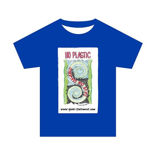 "Herrenshirt ""No plastic - save our seaworld"""