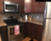 Clear Lake Manitoba Cabin Rentals - Cabin 6 Kitchen 1