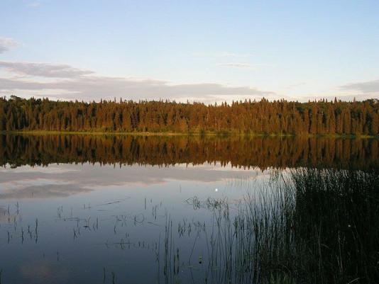 Lake Katherine riding mountain national park