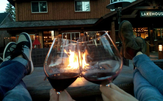 Wine at the Lakehouse Clear lake