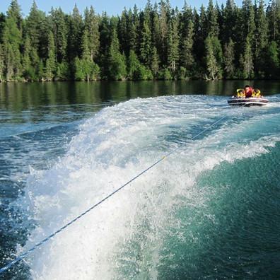 tubing in clear lake manitoba