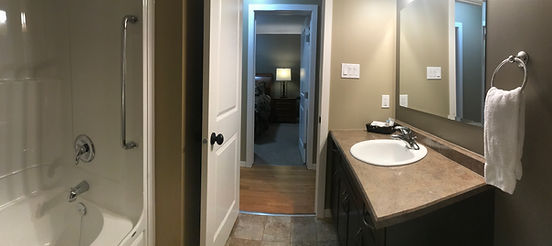 Geiler Corner Clear Lake MB Cabin #2 Bathroom Main Floor