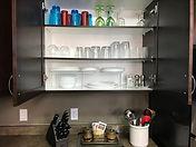 Clear Lake Cabin Rentals - Cupboard 1