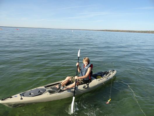 Kayak Clear Lake manitoba