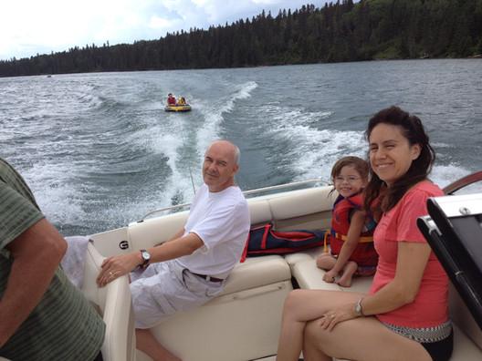 boating in clear lake manitoba