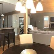 clear lake cabins living room geiler corner year round luxury resort