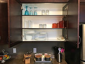 Clear Lake Manitoba Cabin Rentals - Cabin 6 Kitchen Cupboard 1