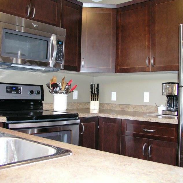 Cabin Rental Clear Lake kitchen