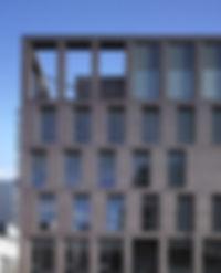 Loader Monteith GCM Orthogonal Glasgow City Mission Elevation