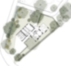 Loader Monteith_Wing House_Proposed site plan