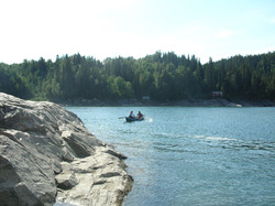 Fishing in Forsjordio