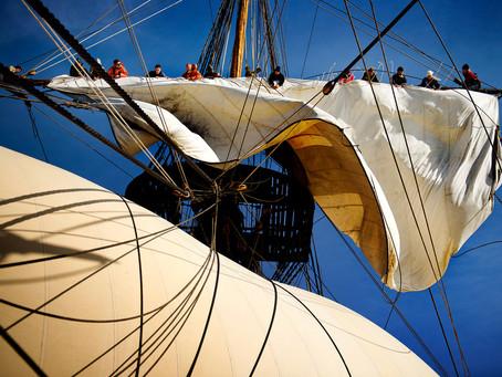 Ostindiefararen Götheborg seglar med Jontefonden som partner i sommar
