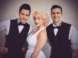 Marilyn Monroe and Dancers
