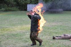 Open Face Burn