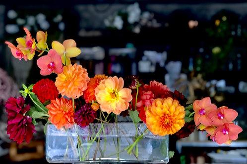 Oblong Vase Arrangement