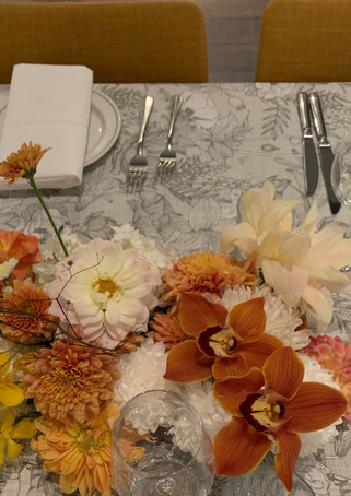 Match Flowers and furnishings
