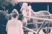 wedding photo shoot,romantic wedding,wedding horses,wedding ranch,wedding flower crown,wedding bride,wedding soft curls,wedding dress,wedding reception,wedding theme,wedding romantic dress,wedding barn,wedding greenery,wedding natural makeup,fairytale