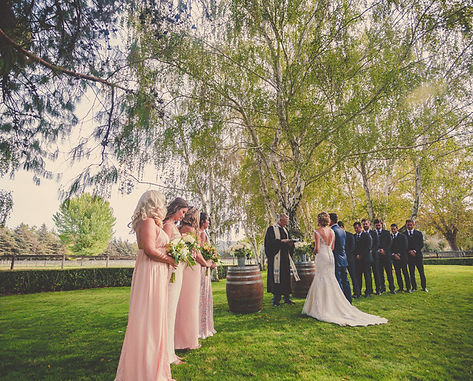 Alexanra and Colton celebrate their wedding a Whispering Ros Ranch, photographed by Open Door Weddings