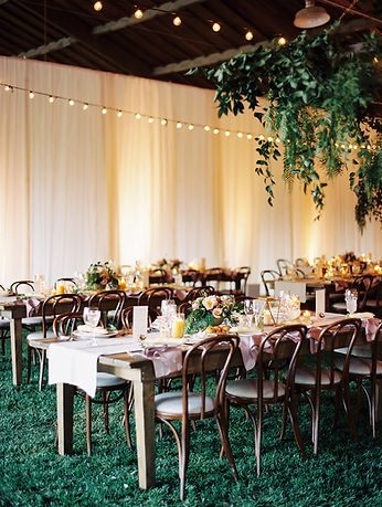 Beautiful barn wedding venue at Whispering Rose Ranch Weddings in Santa Barbara, CA