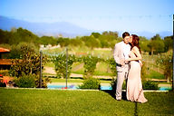 Joe and Jennifer celebrate the beginning of wedding planning, and their life together, with a wedding engagement photo shoot captured by Sun-Dance Photography at Sogno del Fiore, a private estate vineyard venue, www.SognodelFioreWedding.com.