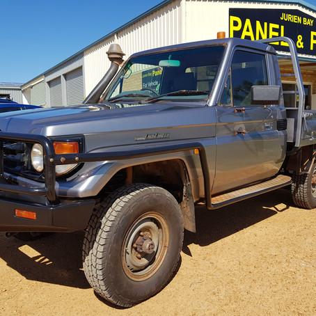 Bonny Downs HDJ79R Landcruiser Ute