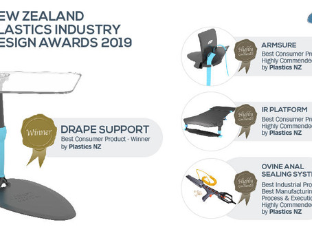 New Zealand Plastics Industry Design Awards 2019