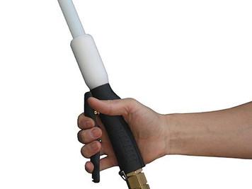 Beef Throat Plug Pusher  - Water Flushing