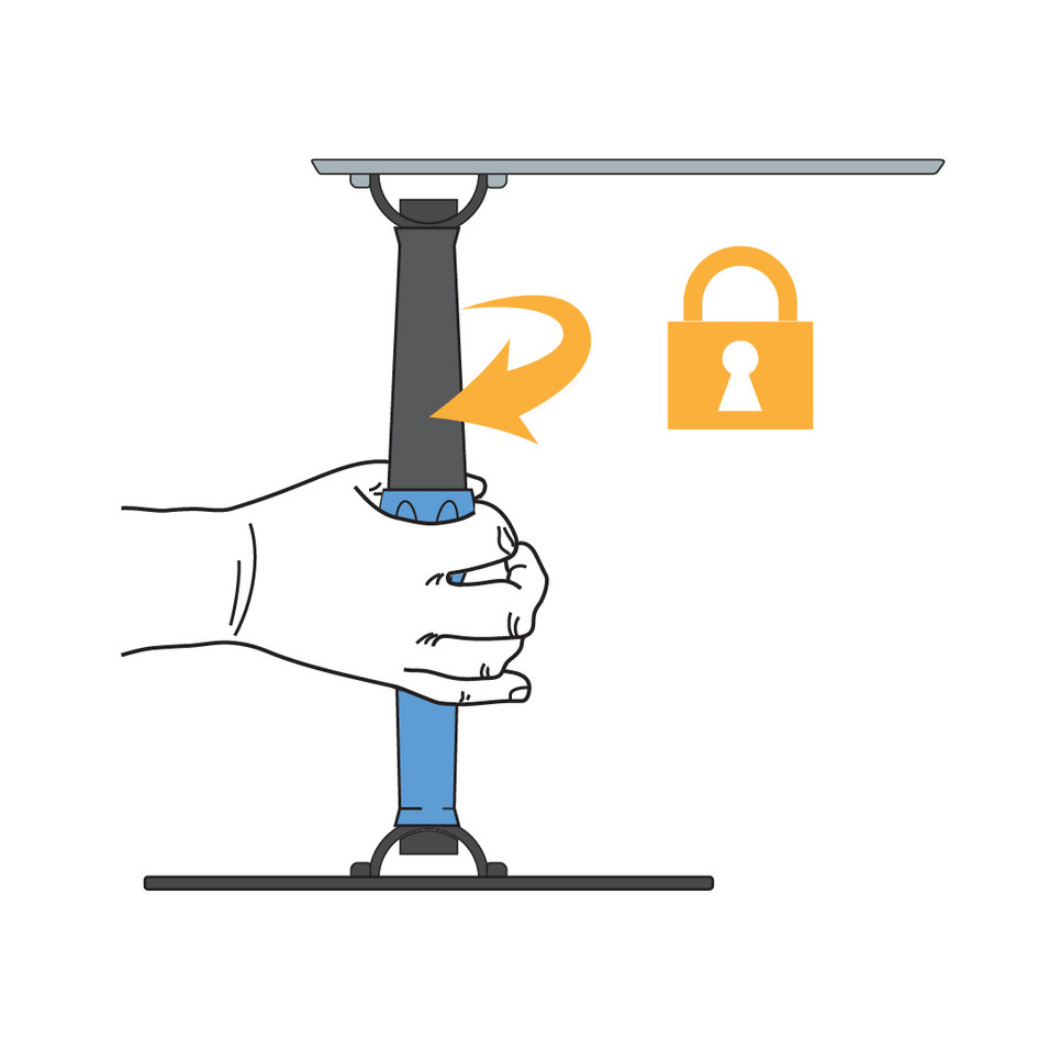 Locking the Leg