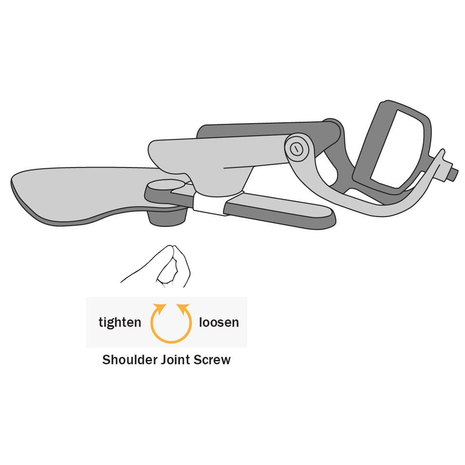 Adjusting the Shoulder Joint Screw