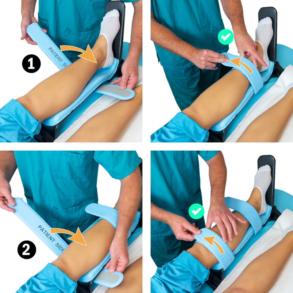 Applying Leg Straps