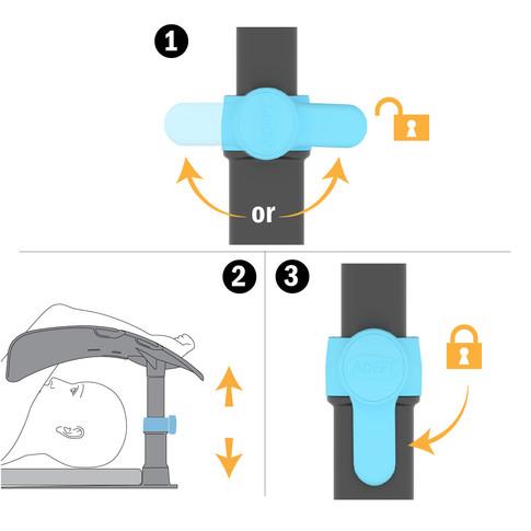 Unlocking and Locking the Locking Leg