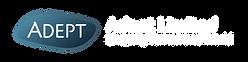 Adept Corporate Logo Horizontal White.pn