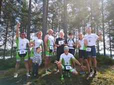 Vi overlevde alle sammen på Finnskogen for 4 gang.