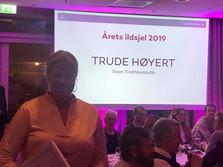 Trude er årets ildsjel 2019:-)