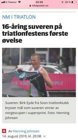 Birk var overlegen på supersprinten i Lofoten