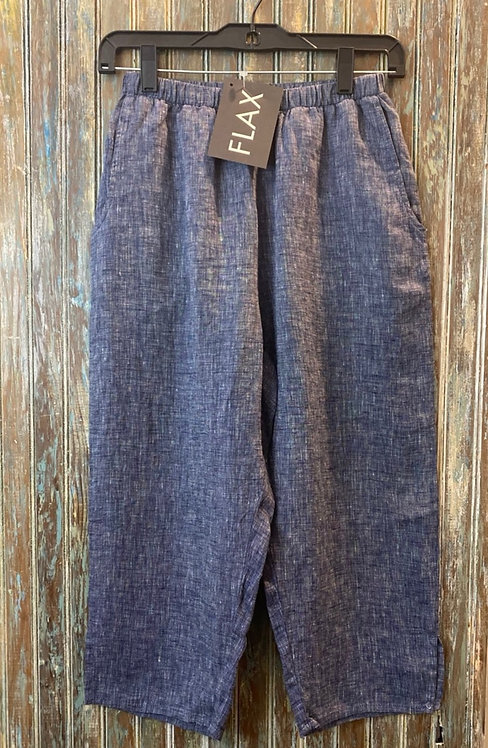 Pedal Pant - Yarn Dyed