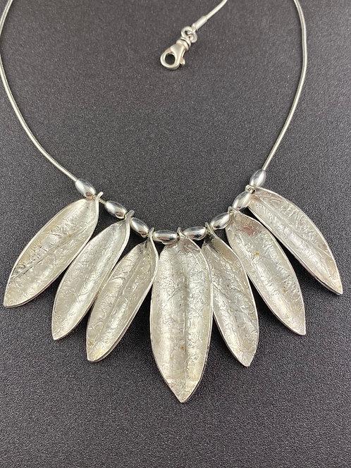 Seven Leaf Necklace