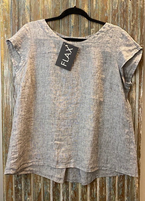 Tuck Tee - Yarn Dyed